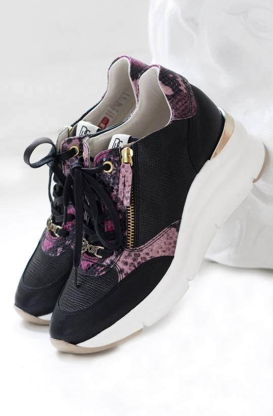 DL SPORT - Sneaker Black Lizzy 4677 Ver 5