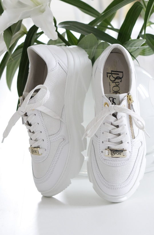 DL SPORT - White Sneaker 4279 End April