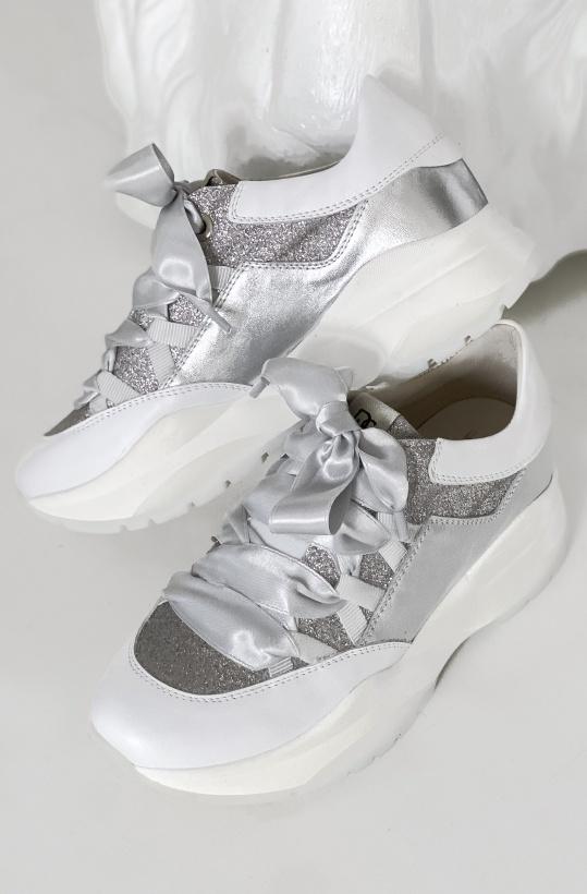 DL SPORT - White sneaker 4646 March 2020