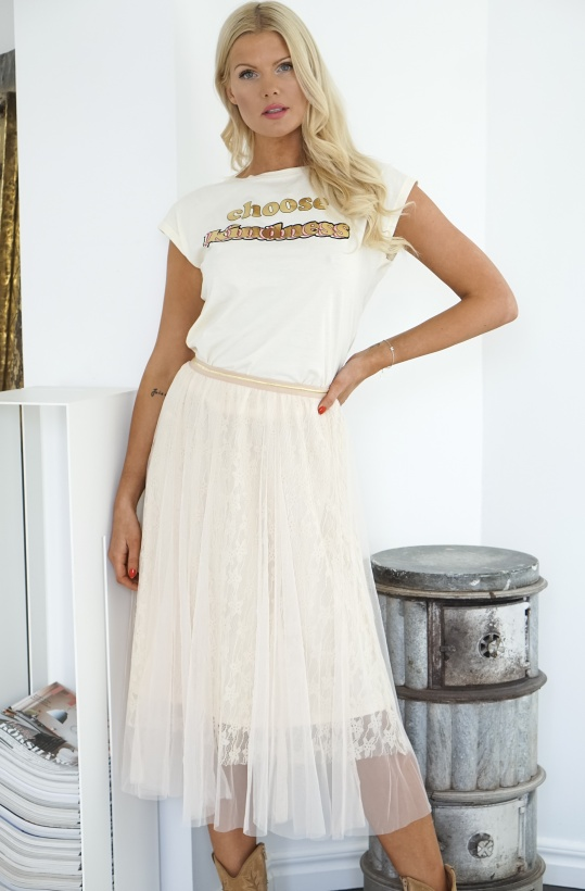 EMM COPENHAGEN - Celine Lace Tulle Skirt