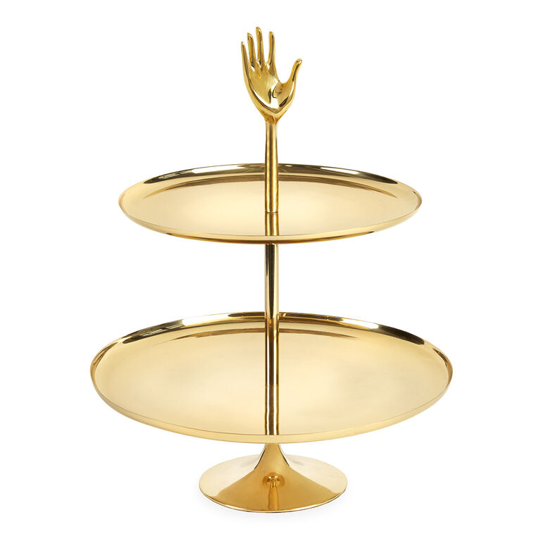 JONATHAN ADLER - Eve Two-Tier Tray