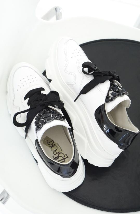 DL SPORT - Exclusive Sneaker med Stenar - 4278 -  Mitten Maj