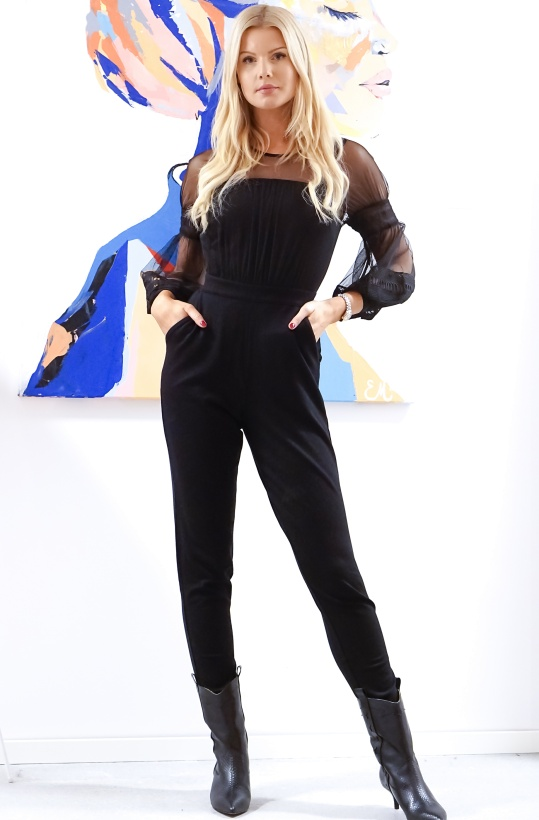 FRENCH CONNECTION - Paulette jersey Jumpsuit