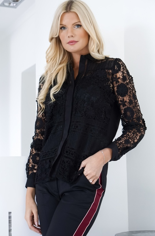 FRENCH CONNECTION - Edu Lace Blouse