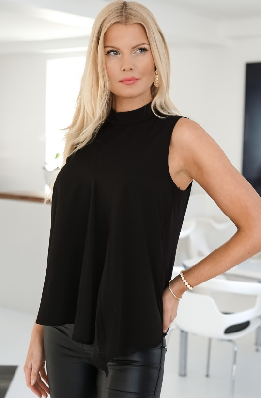 FRENCH CONNECTION - Sleeveless Asymmetric Top 72NAZ