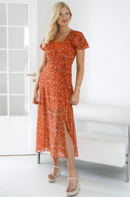 FRENCH CONNECTION - Esi Crinkle Dress