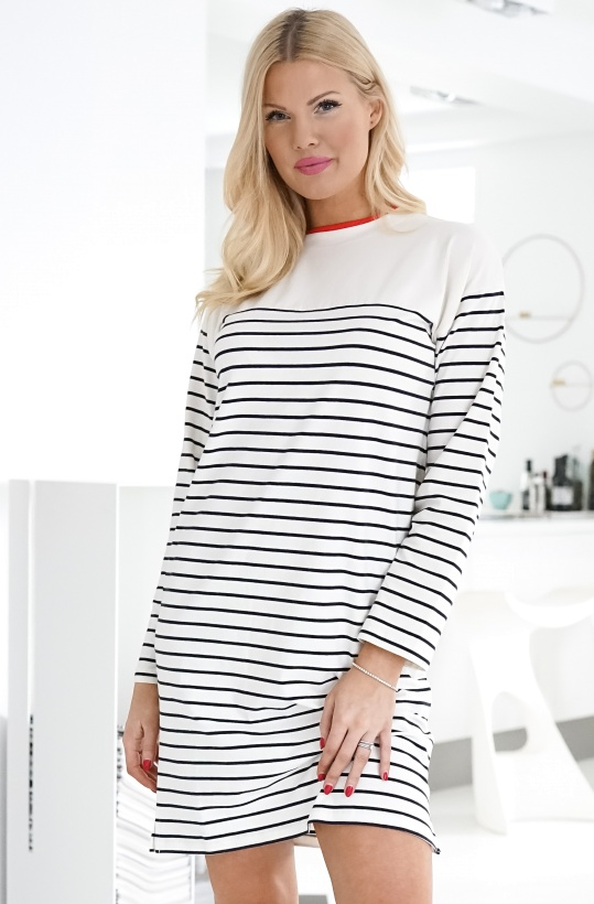 FRENCH CONNECTION - Tim Tim Stripe Dress