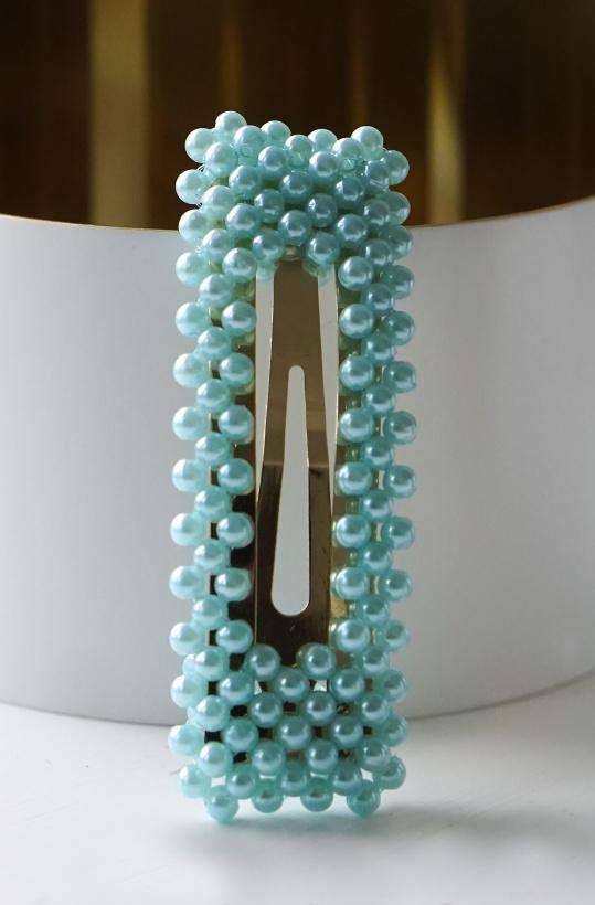 HAIRCLIP - PINS FOR HAIR PEARL SQUARE