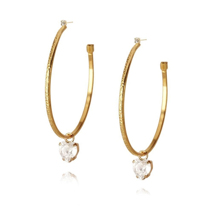 CAROLINE SVEDBOM - Heart Loop Earring