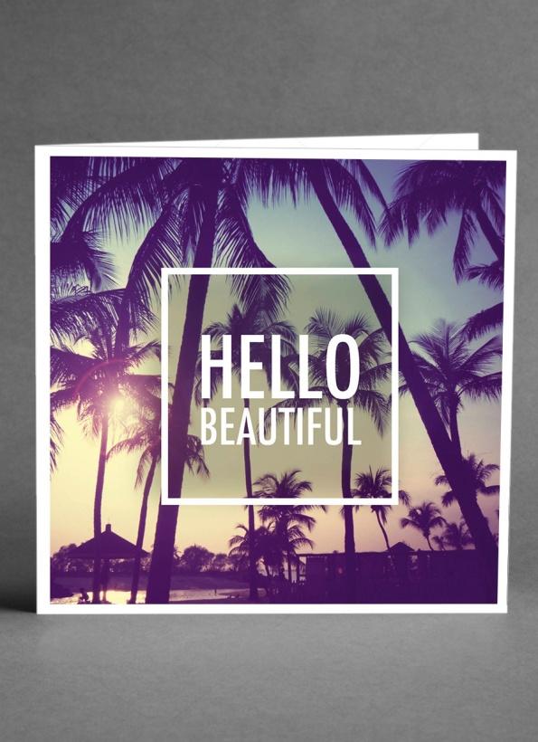 CARD STORE - Hello Beautiful