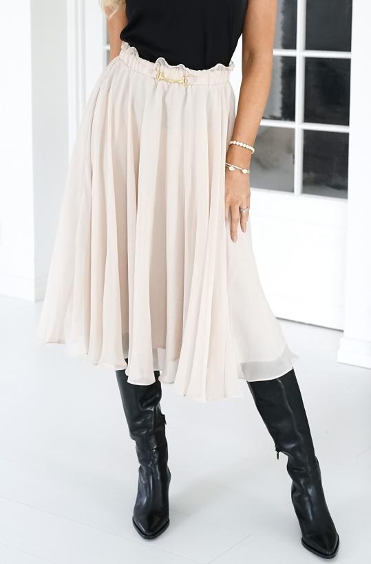 IDA SJÖSTEDT - Moody Skirt Beige