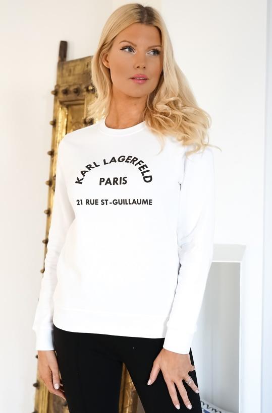 KARL LAGERFELD - Logo Address Sweatshirt