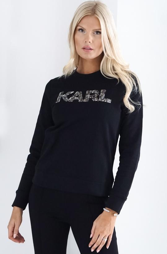 KARL LAGERFELD - Karl Oui Paljett Sweater