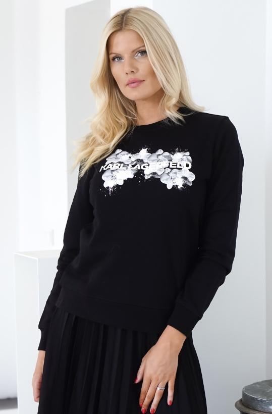 KARL LAGERFELD - Orchid Logo Sweatshirt