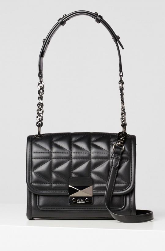 KARL LAGERFELD - Quilted Leather Mini Handbag