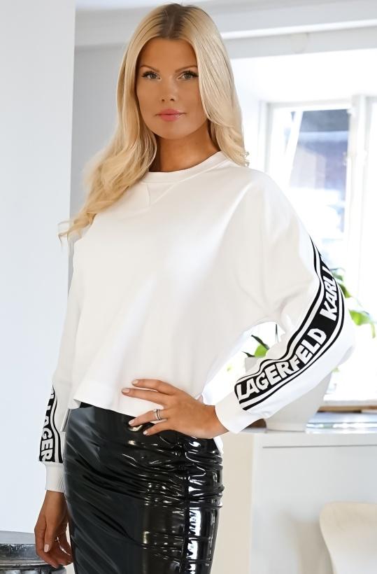 KARL LAGERFELD - Rue St Guillaume Logo Sweater