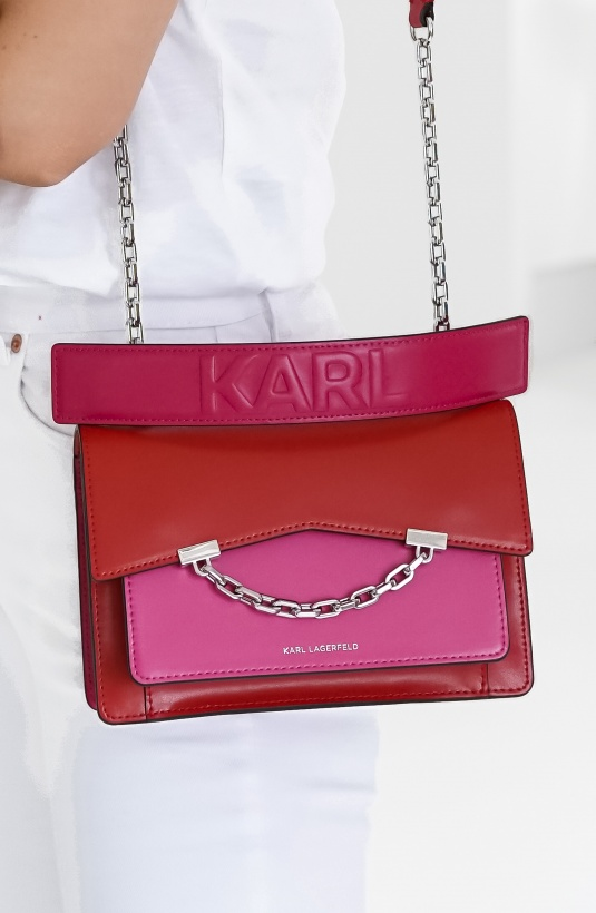 KARL LAGERFELD - Red and Pink Bag