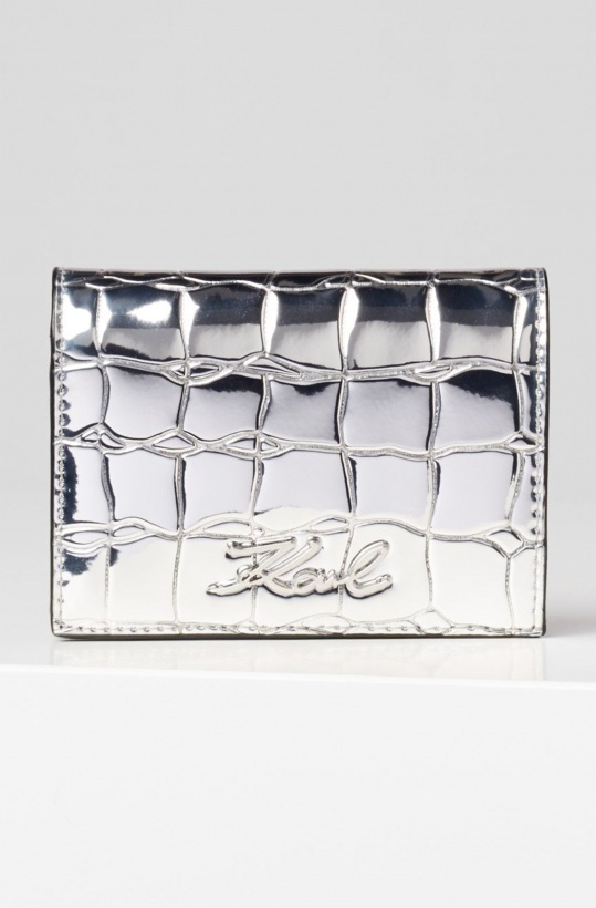 KARL LAGERFELD - Signature Fold Wallet