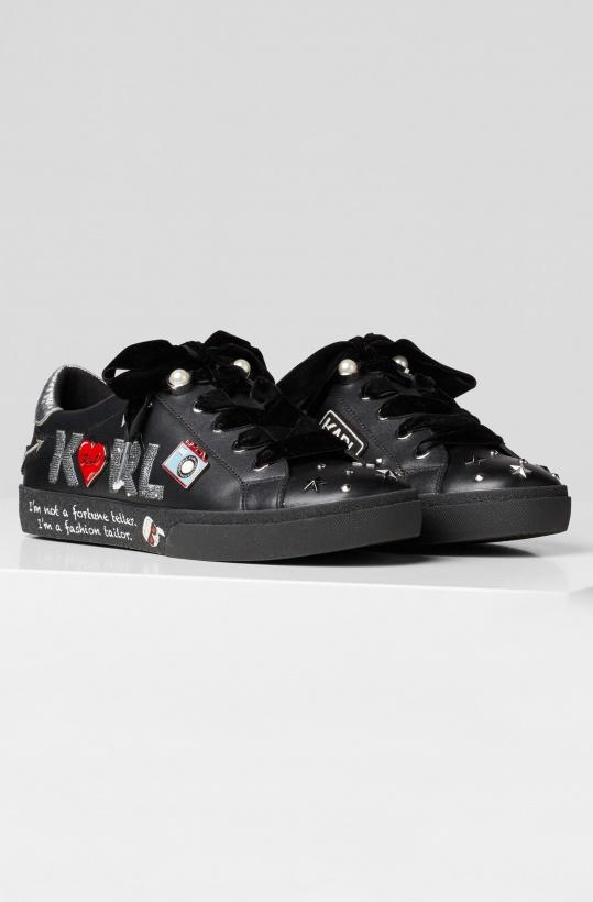 KARL LAGERFELD - Jewel Badge Sneakers