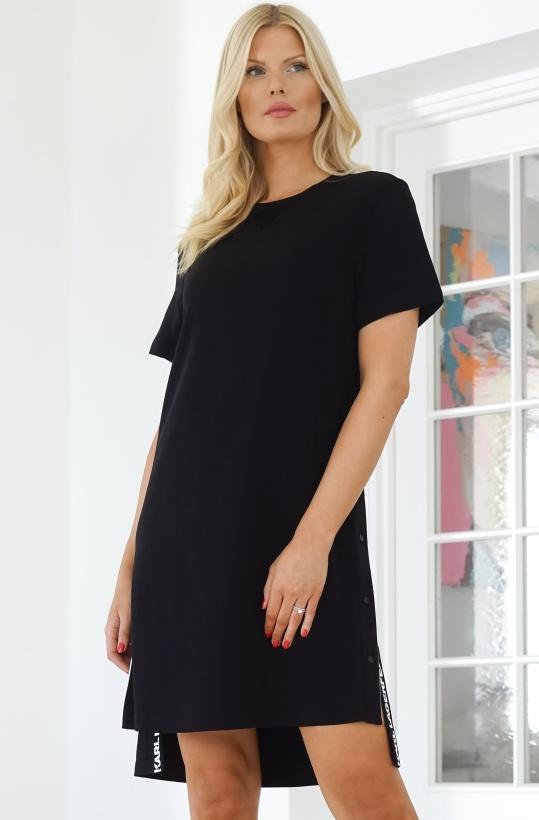 KARL LAGERFELD - Snap Side Dress
