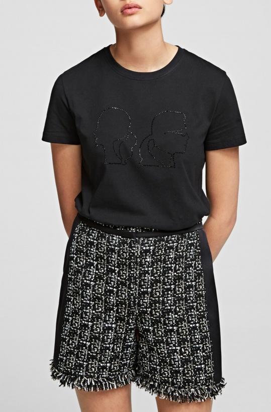 KARL LAGERFELD - Karl x Olivia Profile Tshirt