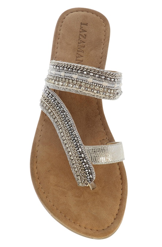 LAZAMANI - Slippers Strass