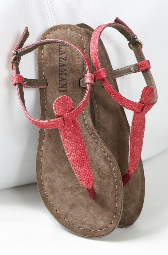 LAZAMANI - Sandal Croco-Skinn