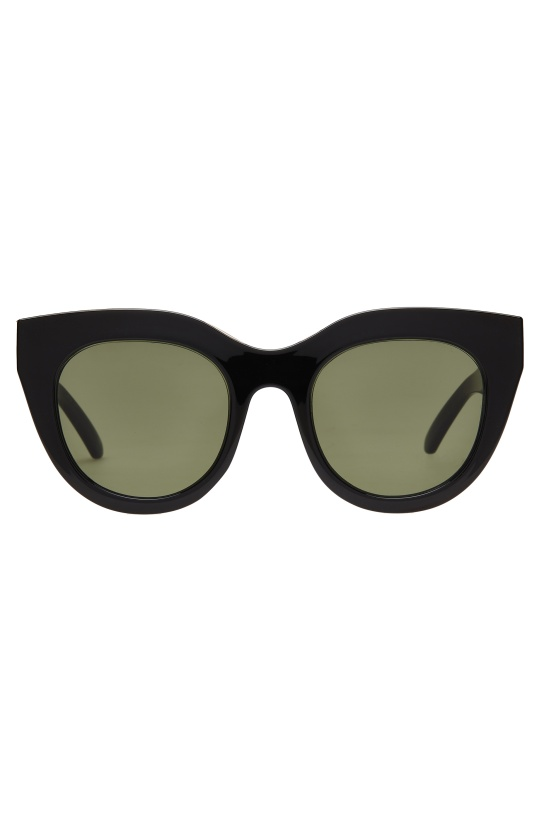 LE SPECS - Air Heart - Black/Gold - Khaki