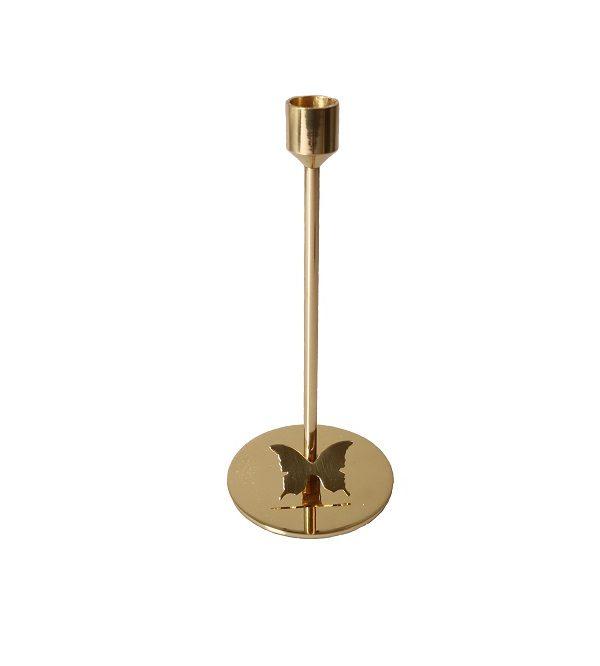 GYNNING DESIGN - Mässingljusstake 23 cm