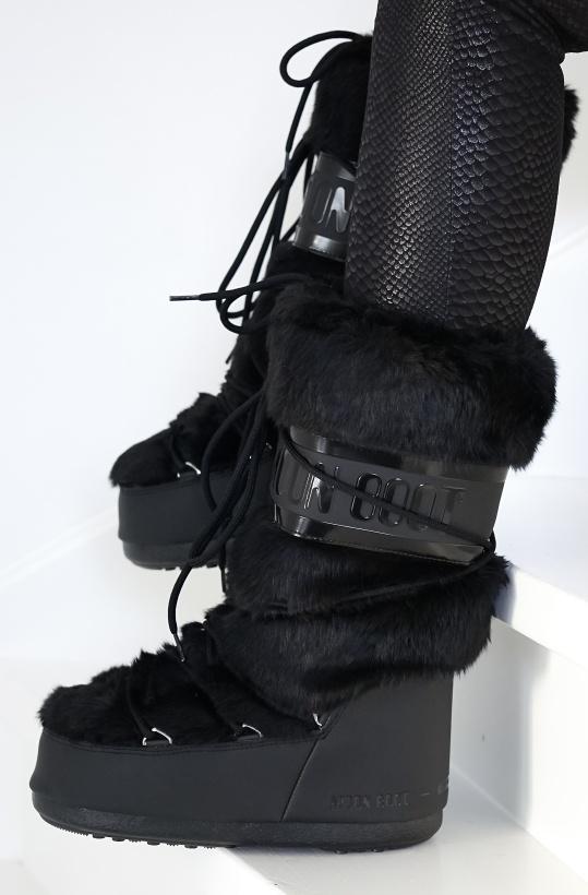 MOONBOOT - Classic Faux Fur High