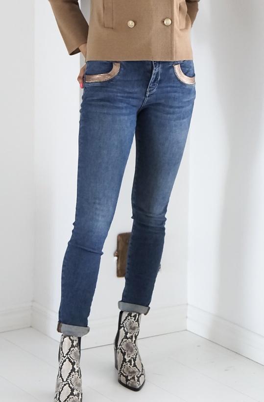 MOS MOSH - Naomi Cube Jeans
