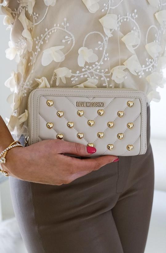 LOVE MOSCHINO - Heart Studded Wallet