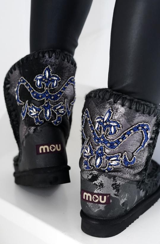 MOU - Metallic Camo Boots