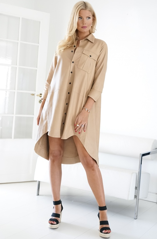MUNDERINGSKOMPAGNIET - Chili Leather Dress