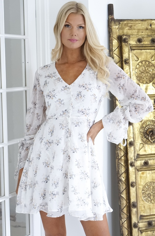 NAKD - Button Down Mini Dress Multi Floral