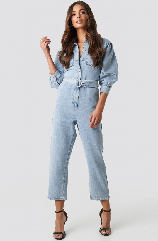 NAKD - Puff Sleeve Jumpsuit