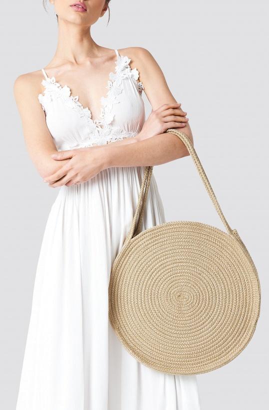 NA-KD - Round Rope Bag