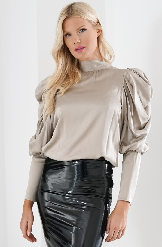 NOTES DU NORD - Missy Silk Blouse