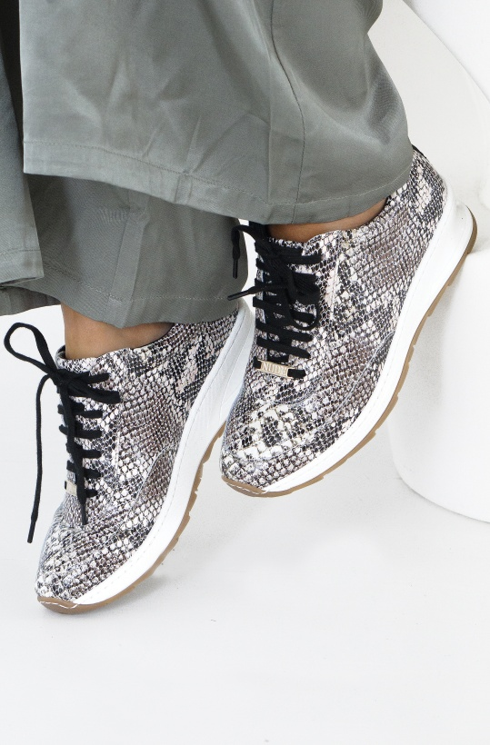 NUDE OF SCANDINAVIA - Peggy Snake Sneaker