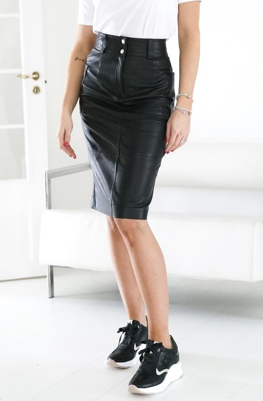 NUMPH - NUAUBERON Leather Skirt