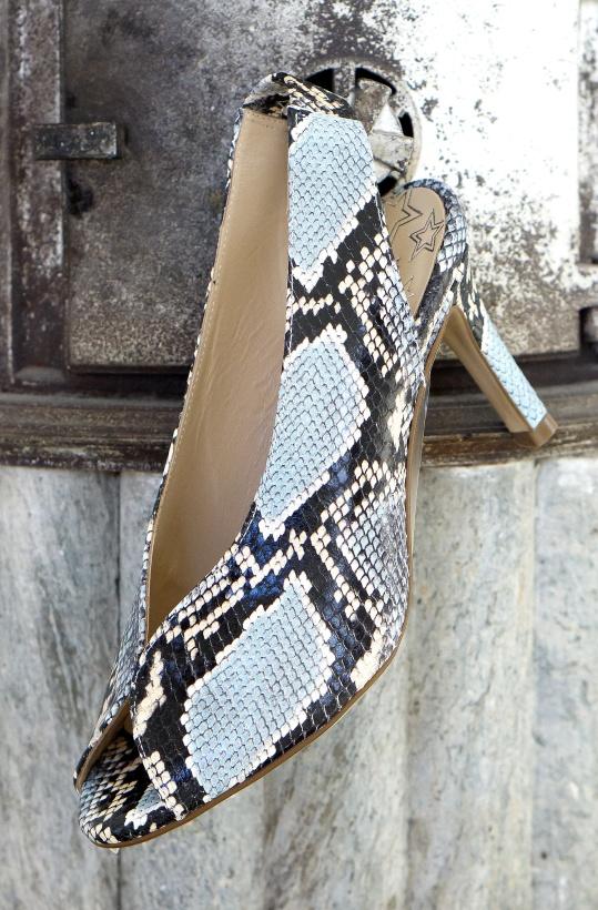 PEDRO MIRALLES - Snake Pump Open Toe