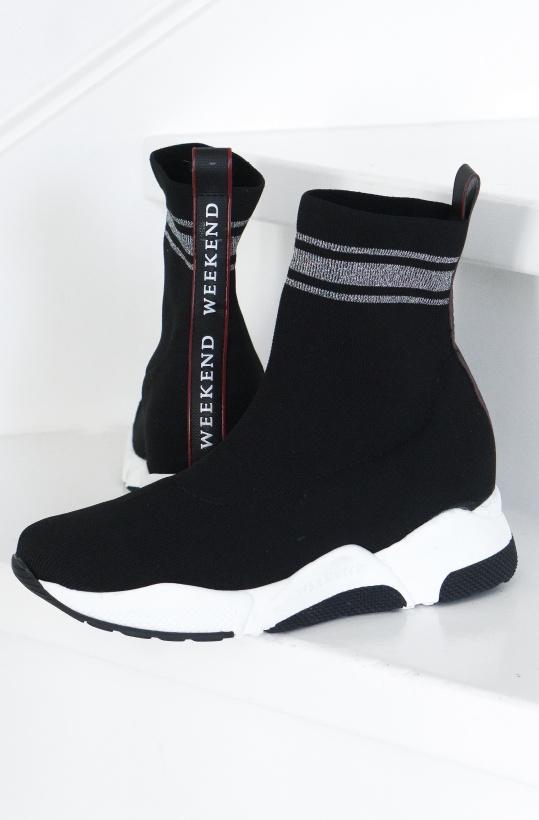 PEDRO MIRALLES - Glitter Sock Sneaker