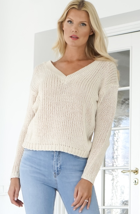 RUT & CIRCLE - Liza Deep Back Knit