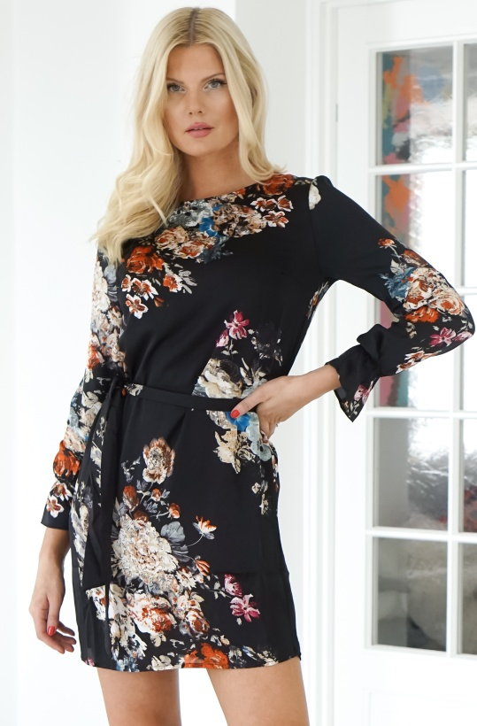 RUT & CIRCLE - Penny Flower Dress