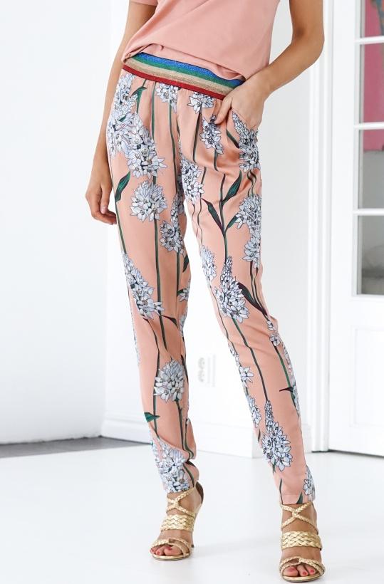SOFIE SCHNOOR - Blue Flower Pink Pant
