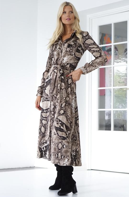 SOFIE SCHNOOR - Lula Snake Dress