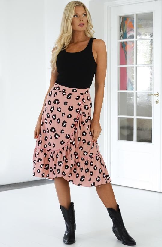 SOFIE SCHNOOR - Pink Leo Skirt Monica