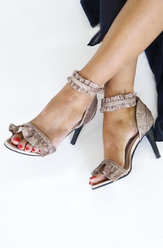 SOFIE SCHNOOR - Sandal High Glitter Ane