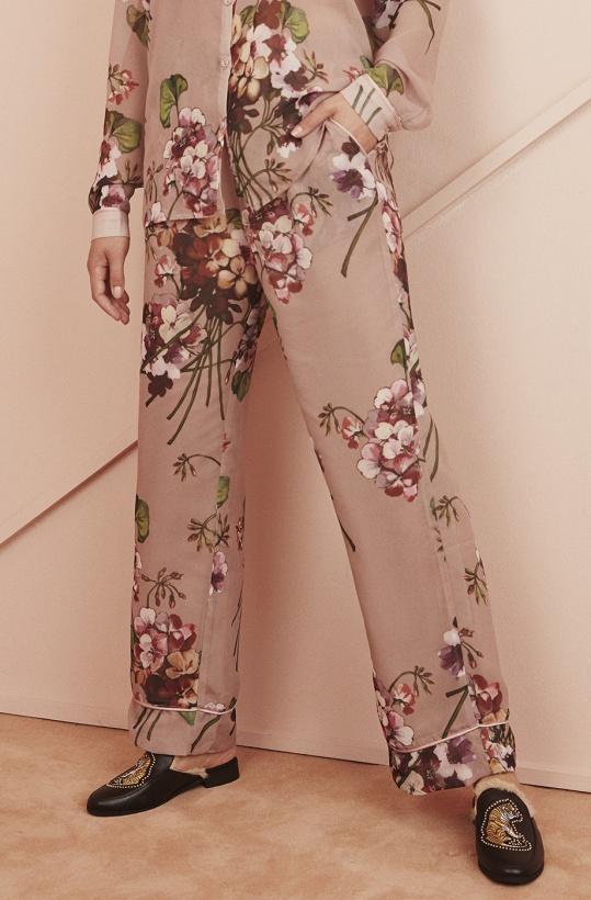 SOFIE SCHNOOR - Flower Pant Ash Rose