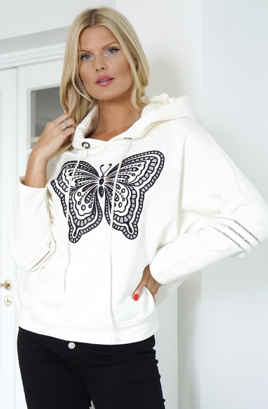 TWINSET - Butterfly Embroidered Sweater